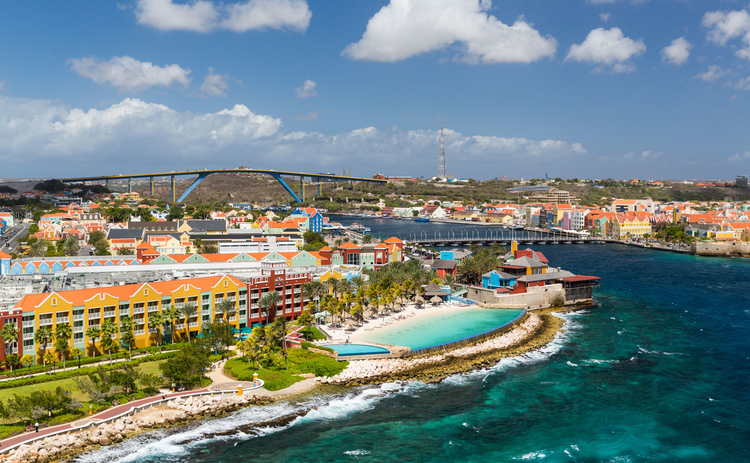 Photo of Willemstad in Curacao