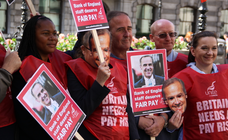 Bank of England resolves dispute with striking workers