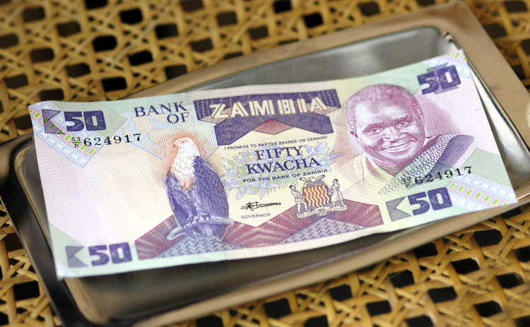 Photo of Zambia currency