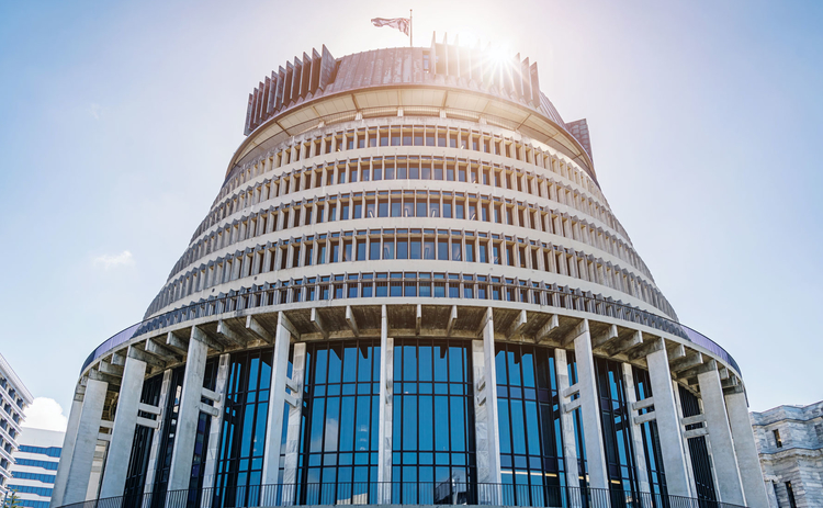 The Beehive, New Zealand's parliament building