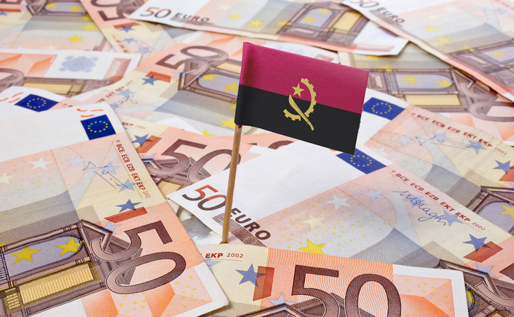 Photo of Angola flag and euros