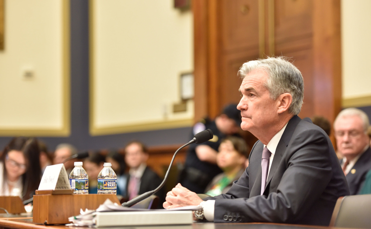 Jerome Powell gives testimony