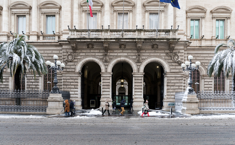 Bank of Italy headquarters, Rome