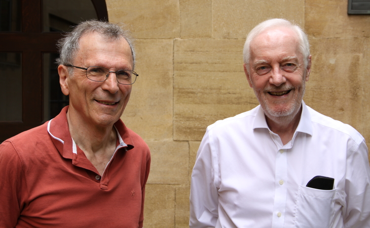John Muellbauer and David Hendry