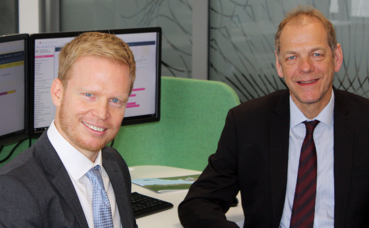 L to R: Tobias Irrcher and Toby Fiennes, RBNZ
