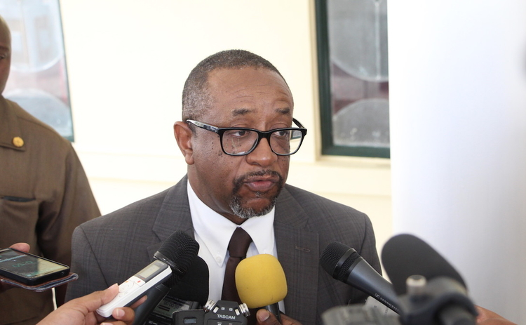 Former Central Bank of Suriname governor Glenn Gersie