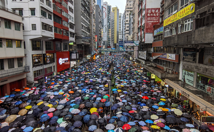 Hong Kong protests August 2019