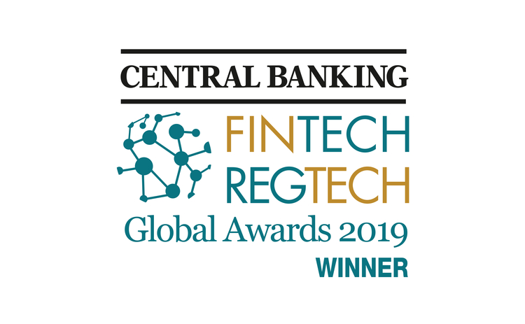 Central Banking FinTech RegTech Global Awards 2019 Winners logo