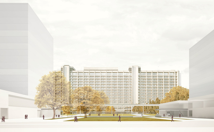 Bundesbank renovation concept