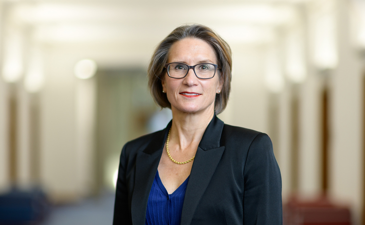 Andrea-Maechler of the Swiss National Bank