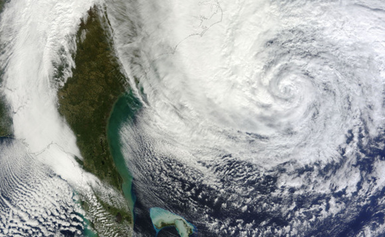 Hurricane Sandy (Image - NASA)