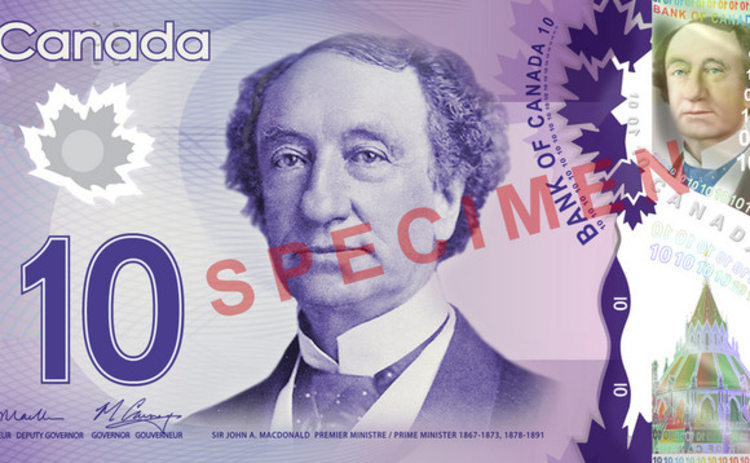canadian-10-dollar-banknote