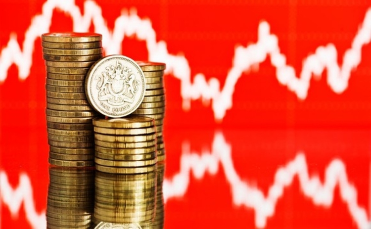 Sterling rate falls
