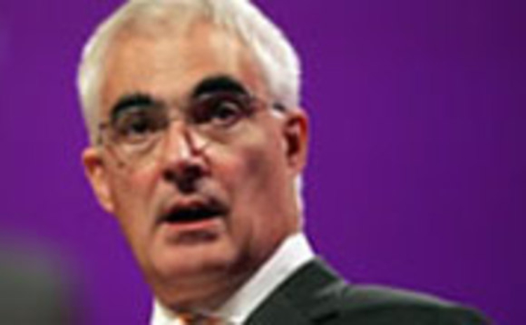 Former chancellor of the exchequer Alistair Darling