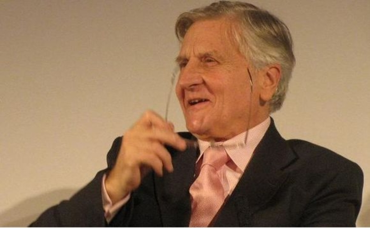 trichet-laughing