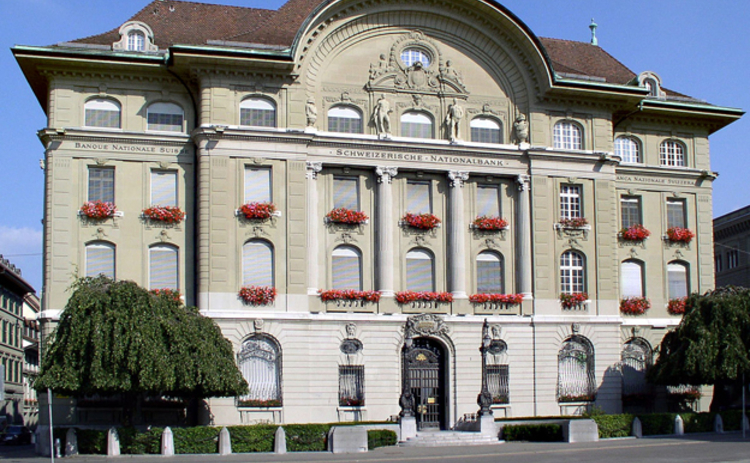 Swiss National Bank headquarters in Bern