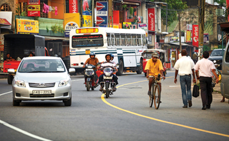 Photo of various Sri Lankan modes of transport