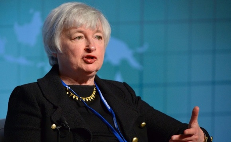 Janet Yellen of the Federal Reserve