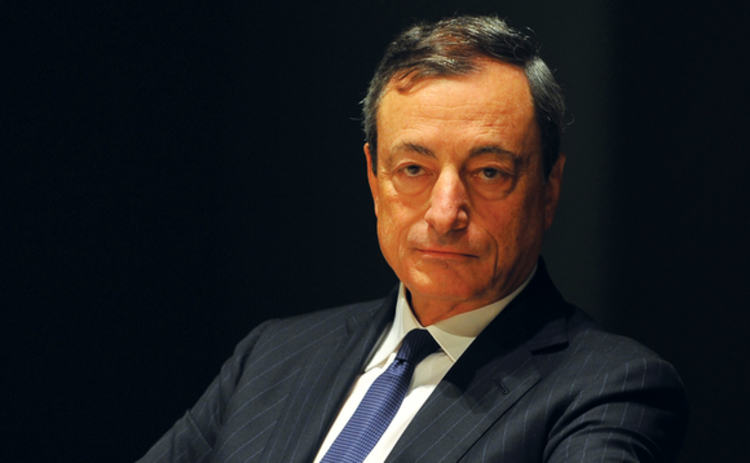 Mario Draghi of the European Central Bank