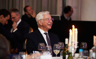 Central Banking Publications founder Robert Pringle Central Banking Awards 2017