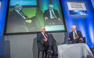 In conversation - Robert Pringle and Paul Volcker